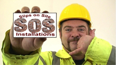 Slips on Site - Plastering - Tiling - Brick Slips - Stone Veneer - fitters - installers - brick slips uk - stonewall company - cladding - nationwide,the stonewall company, brick slips uk